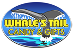 Whales Tail Candy & Gifts Logo